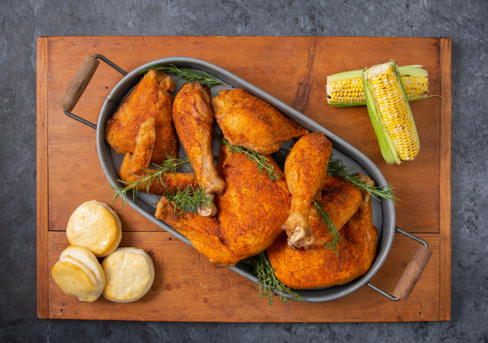 spicy deep-fried Cajun turkey recipe