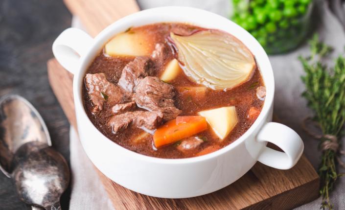 beef stew comfort food