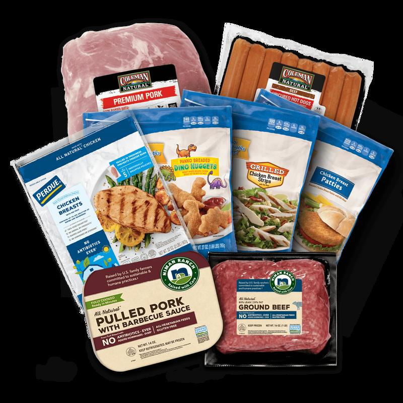 easy dinner ideas food pack