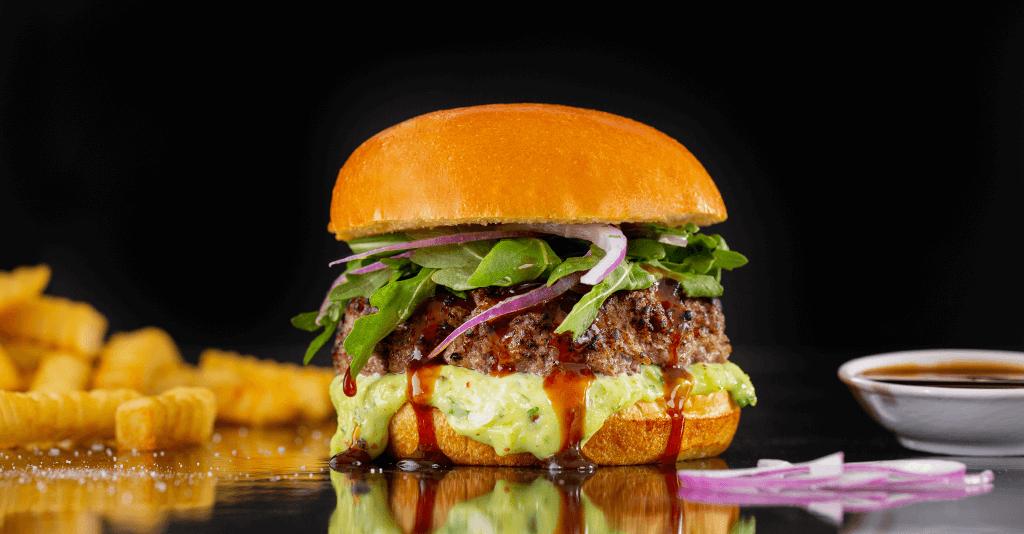 Wasabi Asian burger recipe