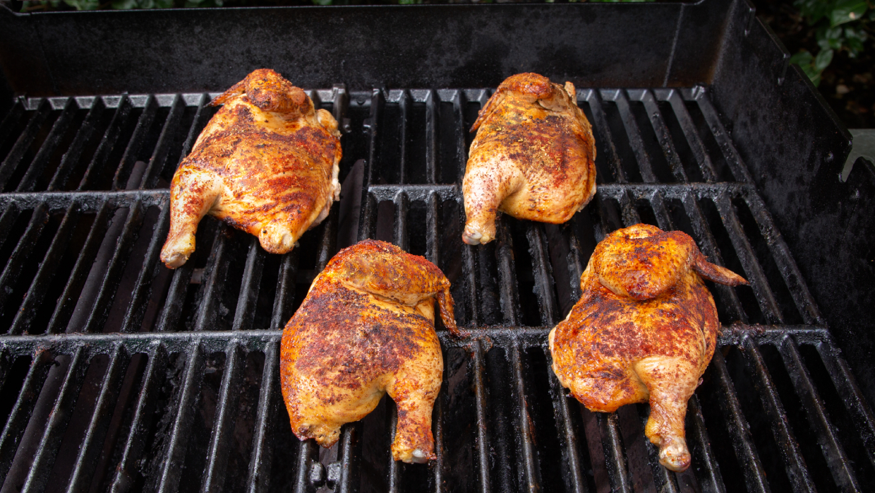 how to grill cornish hens