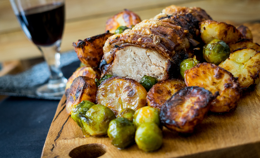 pork loin roast fall comfort food