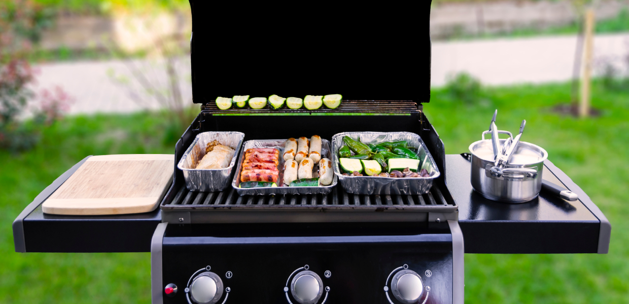 how to prepare a gas grill