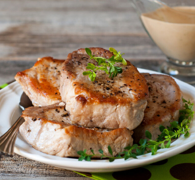cast iron skillet pork chops recipe