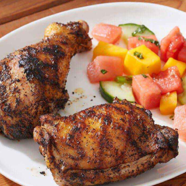 tropical grilled chicken drumsticks