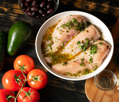 DIY chicken marinade for grilling