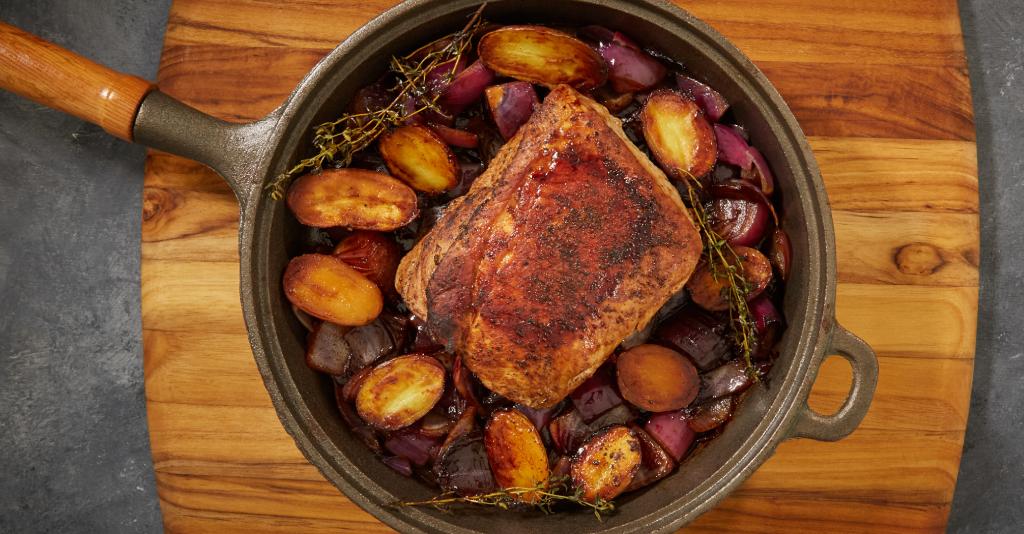 how to roast pork loin