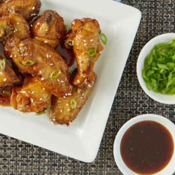 korean chicken wings recipe