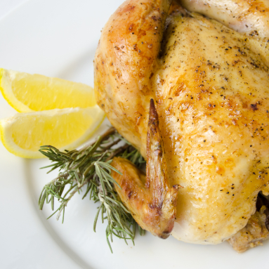 cornish hens in pesto sauce