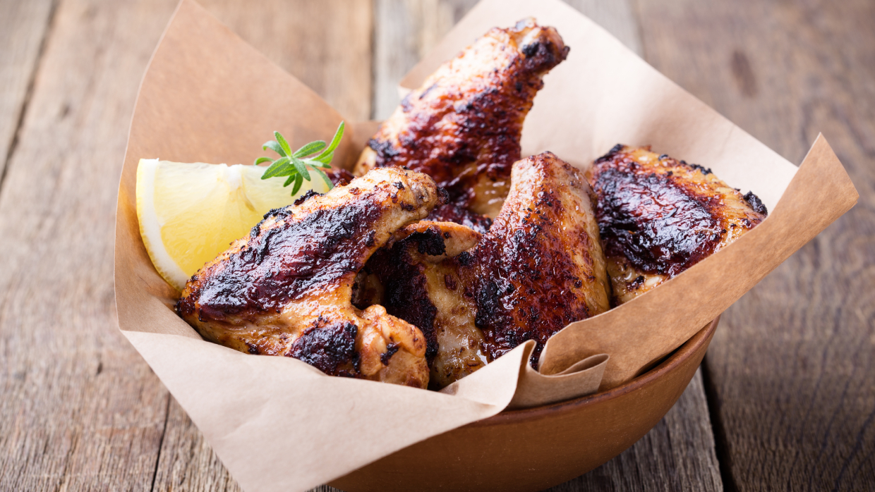 how to grill chicken thighs, drumsticks and wings