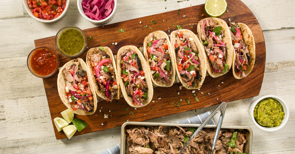 pork butt tacos