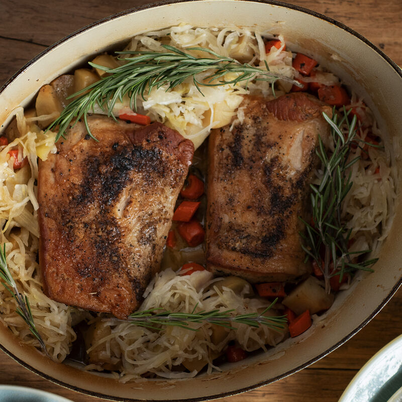 pork and sauerkraut recipe